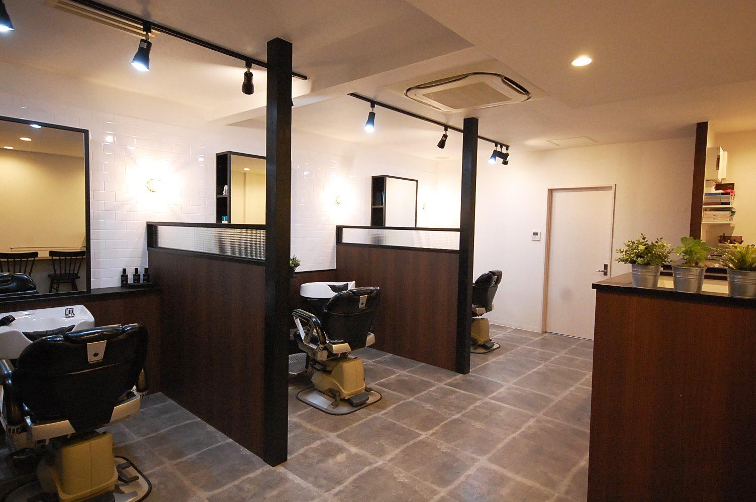 半個室の空間