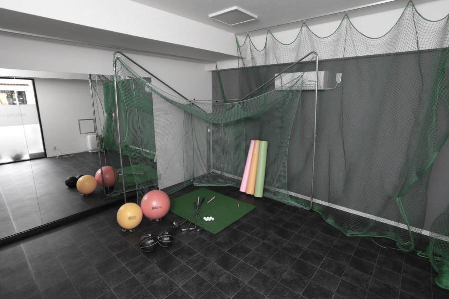 リニューアル前のトレーニングスペース