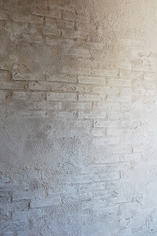 エイジング塗装の壁面