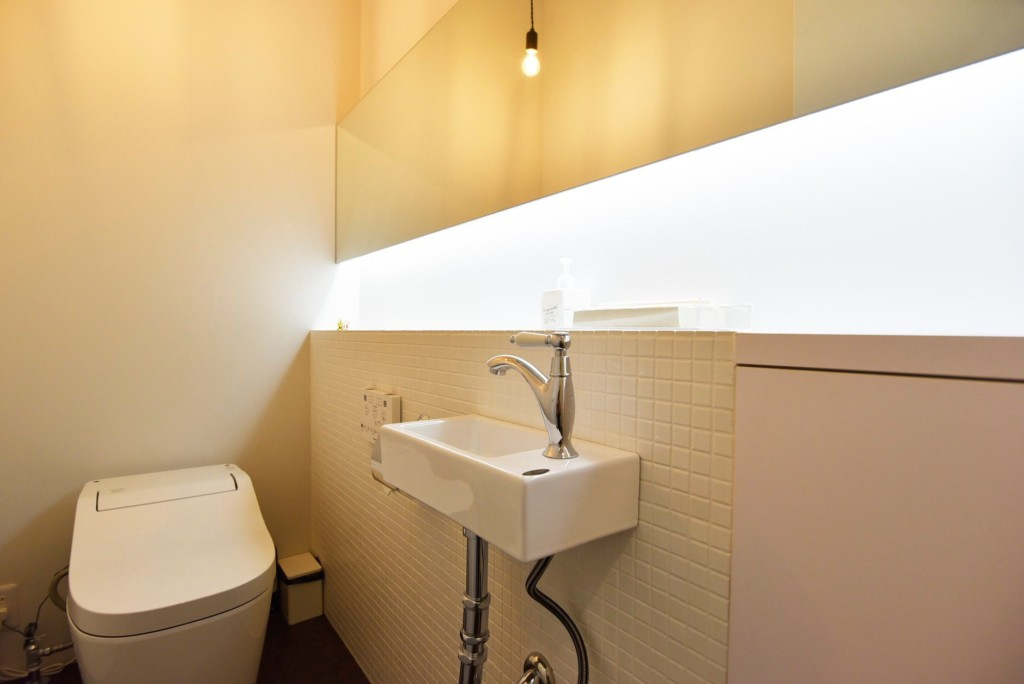 お手洗いも上質な空間に