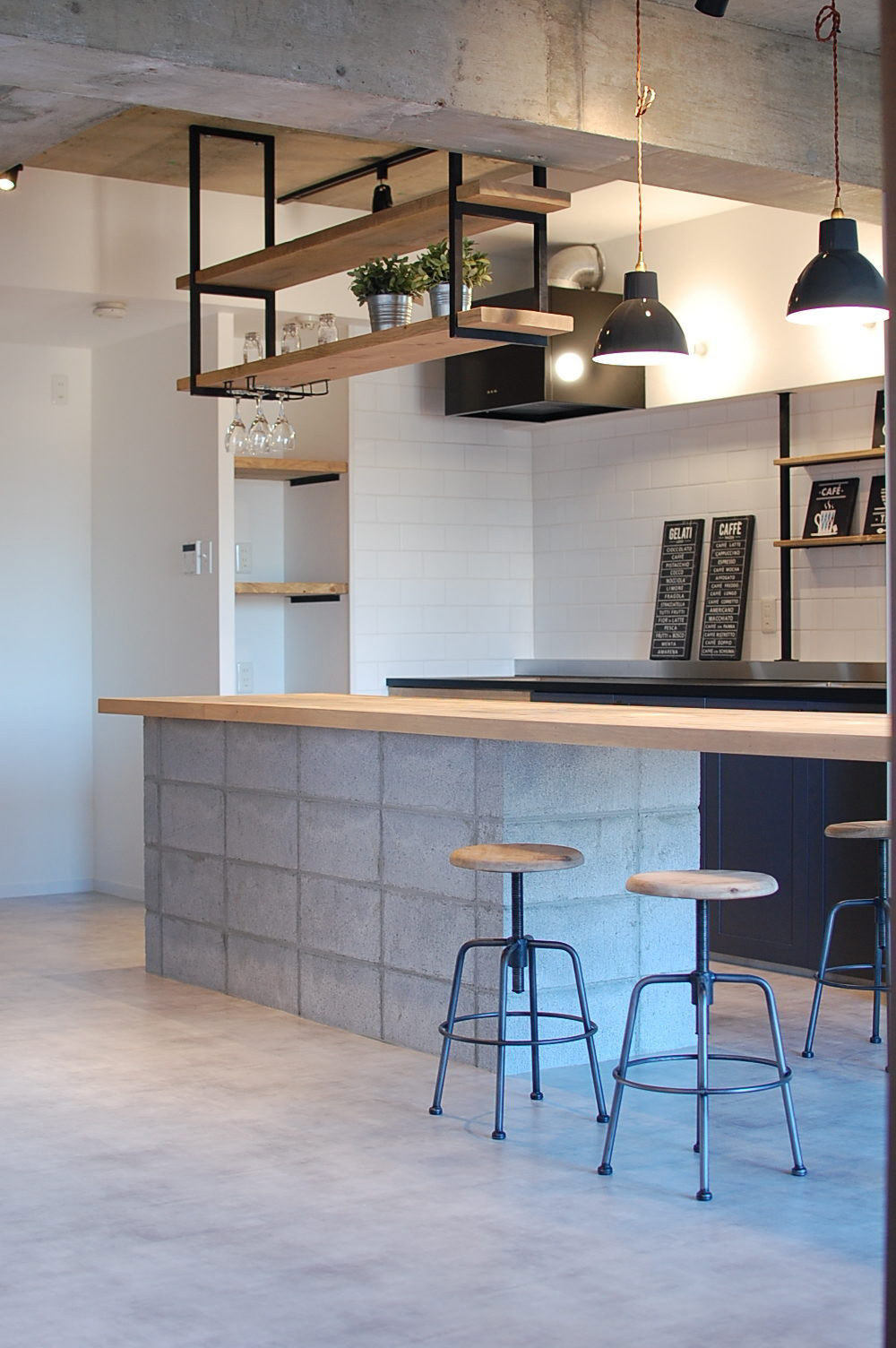 カフェのような空間